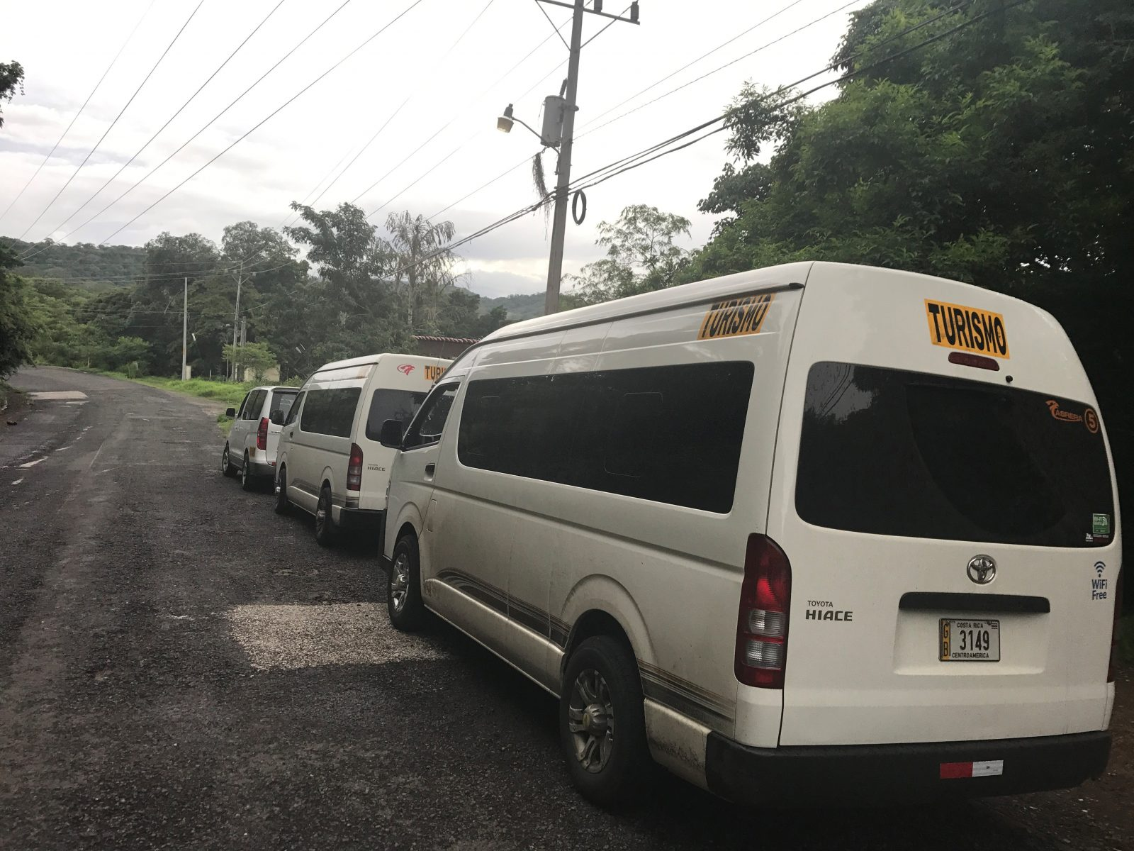 Fleet 2 Falcon Tours Costa Rica Airport Transfers Liberia